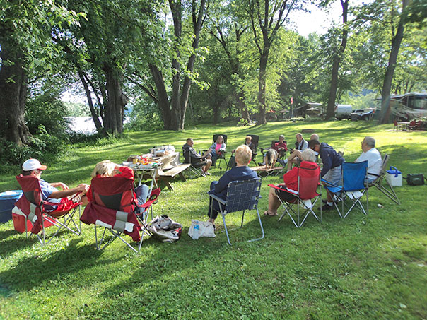 Camping Christmas In July Ideas.Riverside Campground Camping On The Susquehanna River In